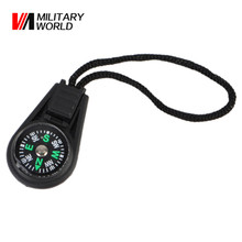 100pcs/lot New Outdoor Mini Compass For Camping Hiking Hiker Hunting Travel Portable Univesal Multi-Functional Key Chains Tool