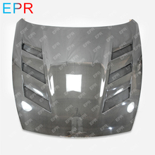 For Nissan 370Z Z34 Carbon Fiber AMS Style Vented Hood Body Kit Auto Tuning Part For 370Z Carbon AMS Vented Hood (2009 onwards) цены
