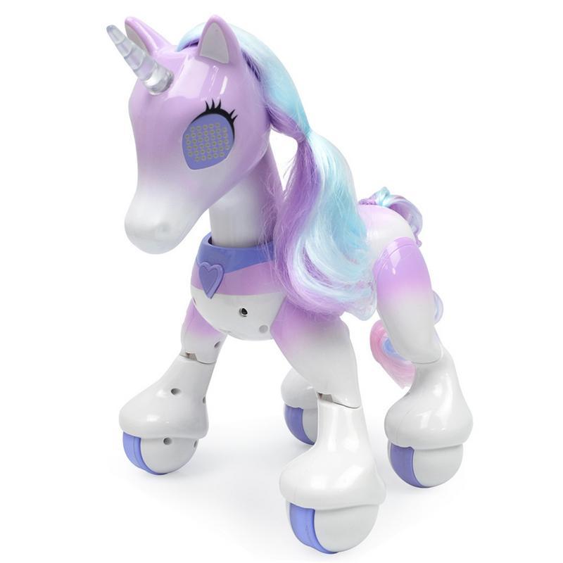 Électrique intelligent cheval télécommande magique licorne enfant nouveau Robot tactile Induction électronique Pet jouets éducatifs pour enfants