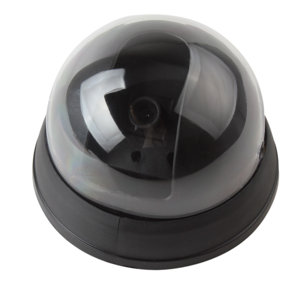 10 PCS/LOT Small Dummy Simulated Dome security Camera with Red Activity LED Light цены онлайн