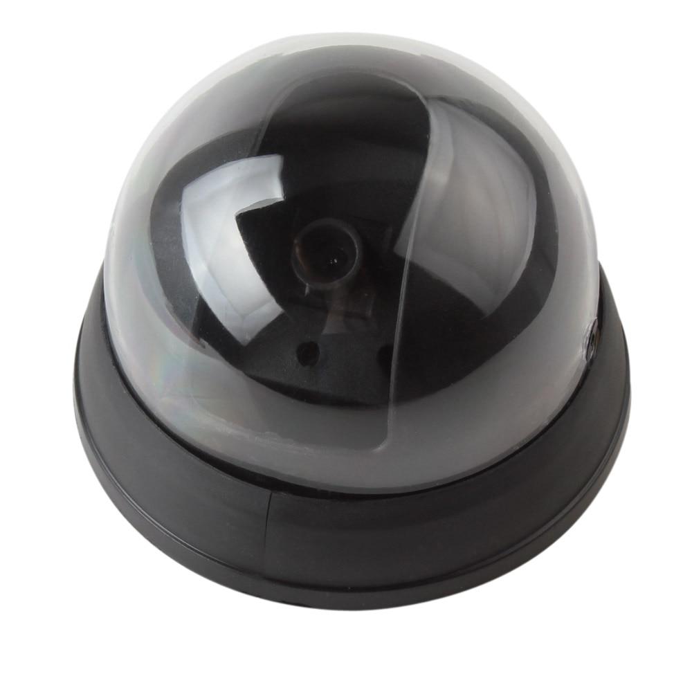 bilder für 10 TEILE/LOS Kleine Blinde Simulierte Dome überwachungskamera mit Rotes Aktivität LED-Licht