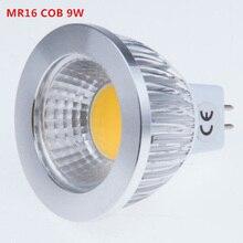 100X LED Spotlights COB led spot MR16 9W 12W 15W New High Power Lampada LED Bulb Lamp MR16 12V Warm/Pure/Cold White BULBLIGHTING