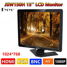 Eyoyo Extremely HD 15″ LCD Coloration Show Monitor VGA BNC Audio HDMI AV Enter For PC CCTV Free Delivery