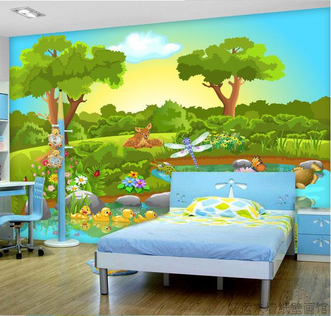 Online get cheap forest wallpaper murals for Cheap wall mural wallpaper