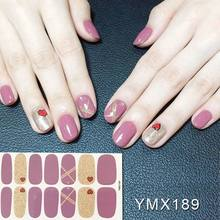 Nail Sticker Beauty Applique Nail Sticker Artificial Watermark Persistence Lasting Accessaries Women Manicure Fashion(China)
