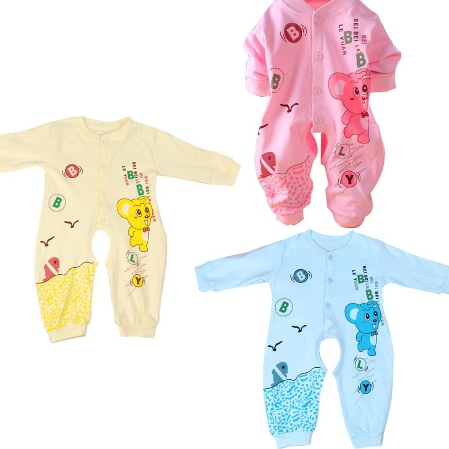 New Fashion Spring/Winter Baby Romper Newborn Cute Cotton onesie long sleeve jumpsuit baby girl boy clothing bebek giyim Krystal 2017 floral baby romper newborn baby girl clothes ruffles sleeve bodysuit headband 2pcs outfit bebek giyim sunsuit 0 24m