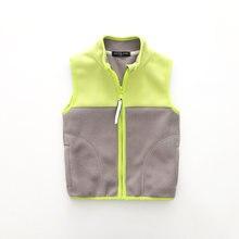 939f9ab87 2018 nuevos niños chalecos para niños y niñas otoño primavera polar caliente  niños prendas de abrigo y capa chaqueta sin mangas .