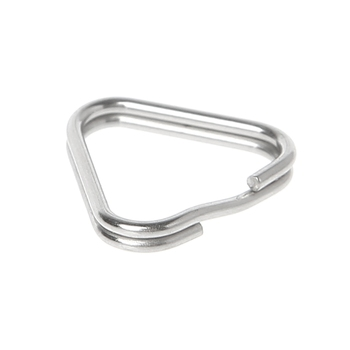 10pcs/set Metal Triangle Rings Split Digital Camera Strap Hook Replacement Parts 1