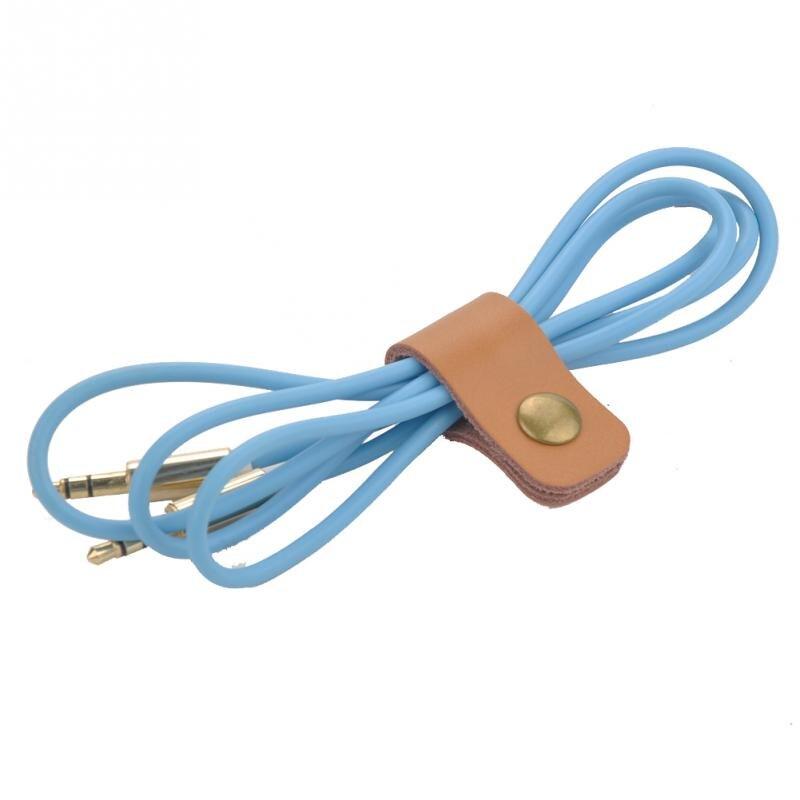 Earphone holder wrap - earphone usb cable