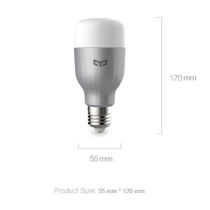 Image 5 - Yeelight ブランド led スマート電球無線 lan リモートコントロール rgb led ライトホーム調整輝度 led 電球ランプ高速配送