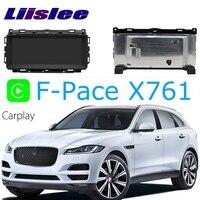 LiisLee Car Multimedia GPS Audio Hi Fi Radio Stereo For Jaguar F Pace FPace R S X761 2016~2018 Original Style Navigation NAVI