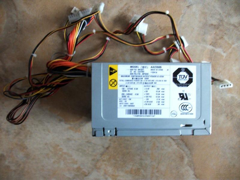 X225 Server 425W Power Supply MODEL Model AA22600 49P2042 49P2041 frescadesign круглый пуф silver
