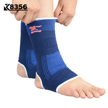 K8356 1Pair Breathable Ankle Support Sports Safety Fitness Ankle Guard Football Volleyball Gym Anti Sprained Ankles Protection