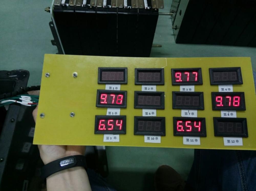 4.5V ~ 120V skaitmeninio voltmetro matuoklis voltimetro Automobilių - Matavimo prietaisai - Nuotrauka 4