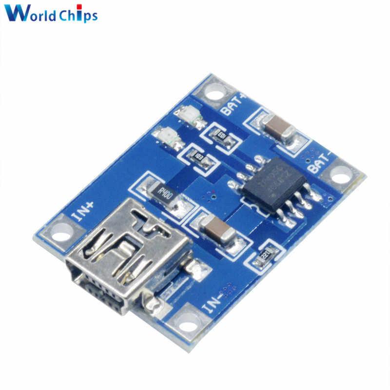 Mini Micro typ C USB 5V 1A 18650 TP4056 moduł ładowarki baterii litowej płytka ładująca z ochroną podwójne funkcje 1A Li-ion