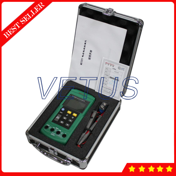 MS7221 DC 0-10V 0-24mA Multifunction Process Calibrator with Voltage Current signal generator hantek ht824 multifunction process calibrator correction voltage and current frequency usb signal generator industry inst