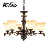 Modern Black Chandelier Lighting Nordic Luminaria Villa Lustres De Teto Ceiling Chandelier For Living Room Bedroom
