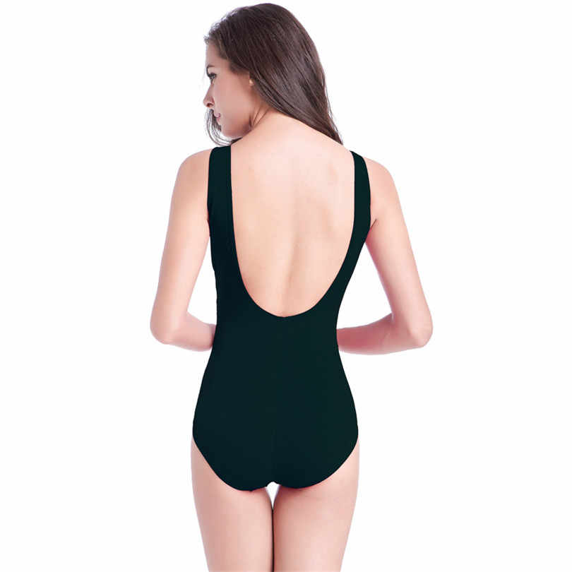 519c57b3cb ... Asian style Buckled Center Swimming Clothes for Fat Women Big Size  Female Swim Wear Plus Size ...