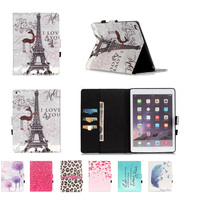 New 1 Pcs Cute Lovely Cartoon Design Magic Girl Cover Stand Case Cover For Apple IPad