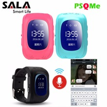 Kids Smart Watch Baby Safe SOS Location Finder 0.96″ LCD Screen LBS tracker Wear Anti Lost With Sim Card Cell Phone Alarm Clock