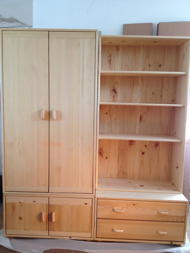 Solid Wood Cabinets Lockers Shelf Bookcase Cabinet Children S Toys