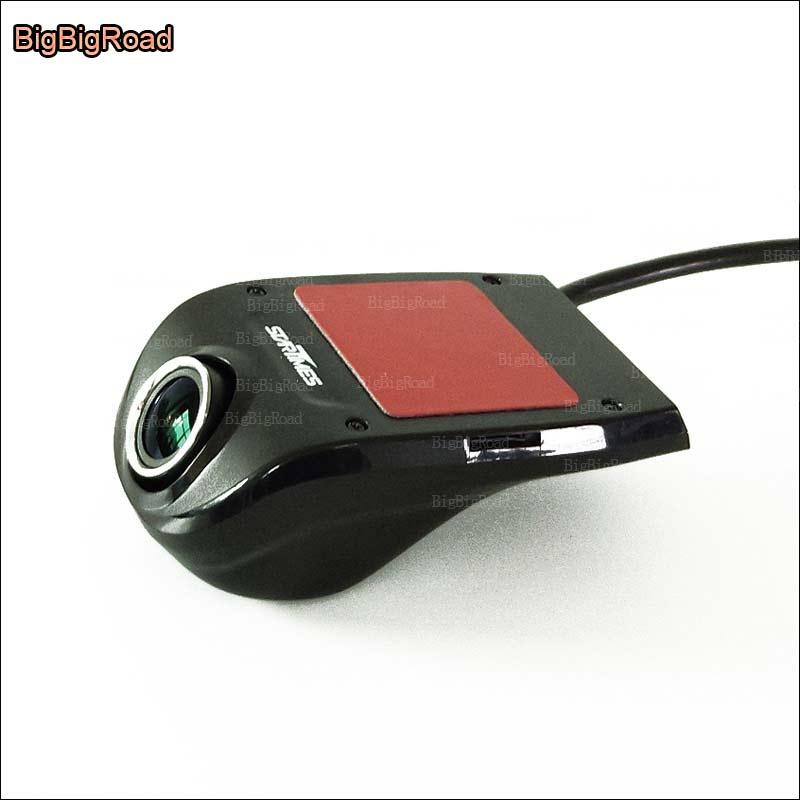 BigBigRoad pour mercedes benz C200 E200 GLA GLK GLK série voiture wifi mini enregistreur vidéo DVR caméra de tableau de bord Novatek 96655