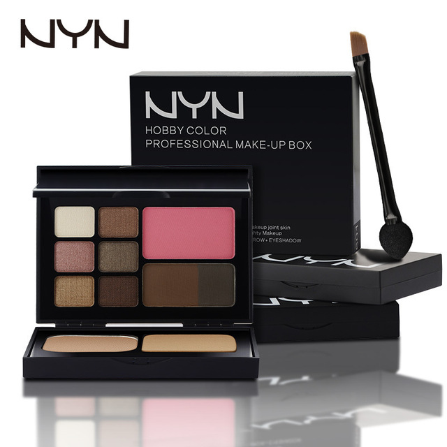 Make Up Eye Shadow Palate EyeShadow Eyebrow Powder Blusher Pressed Powder Makeup Kit