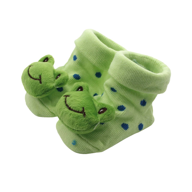 Cute Baby Infant Baby Kid Toddler nou-născut bumbac de animale scurte boot Sock Slipper pantof
