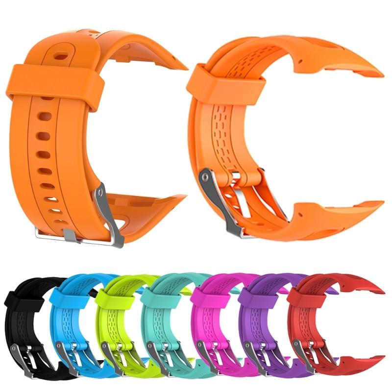 Silicone Bracelet Strap Wristband For Garmin Forerunner10 15 Smart Watch Female