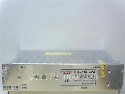 [ZOB] Heng Wei switching power supply HS-100-24 24V4.2A --3PCS/LOT [zob] heng wei switching power supply t 50d 3pcs lot