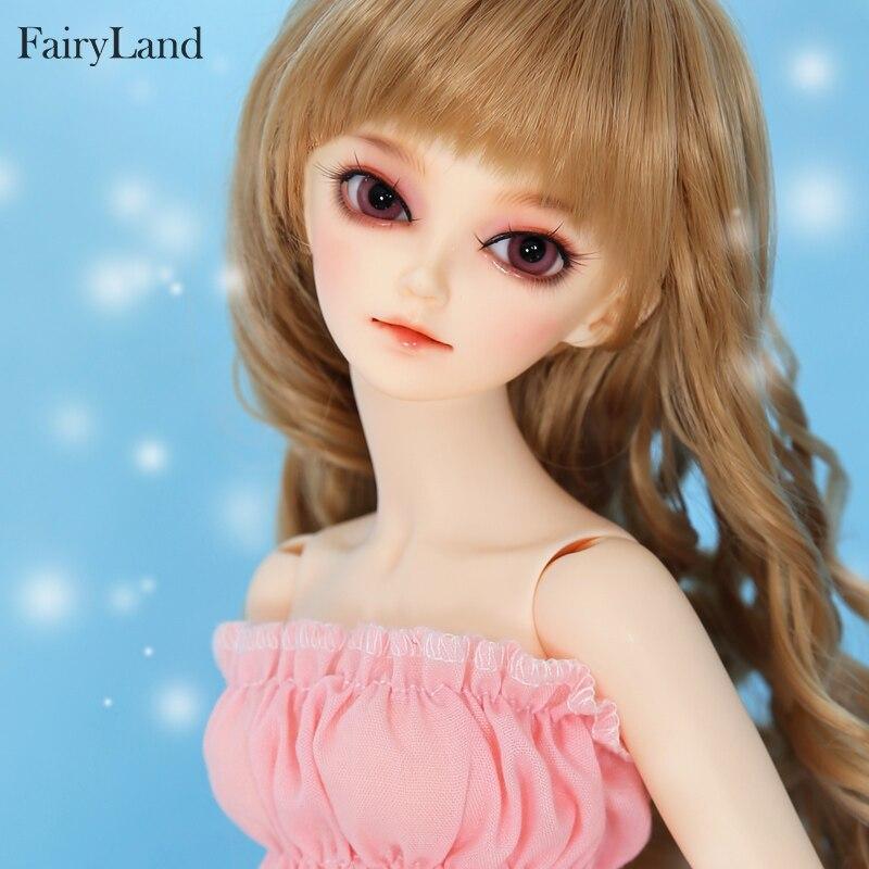 Fairyland Minifee shushu 1 4 BJD Doll Moe Girl Body Resin Figures Model Dolls Eyes High