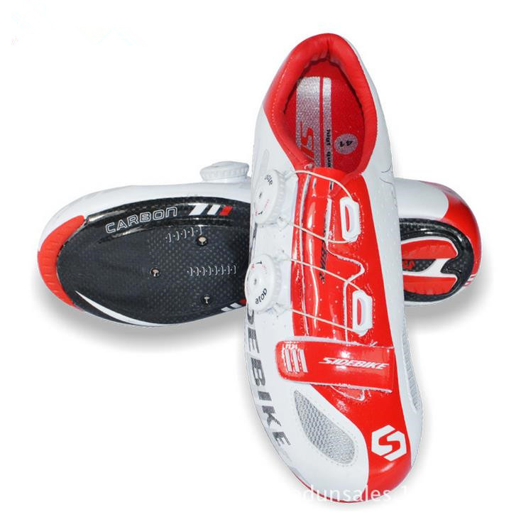 Sidebike Bicycle Carbon Sole Shoes Cycling Road Shoes Sports Athletic Bike Shoes Sapato Ciclismo Zapatillas