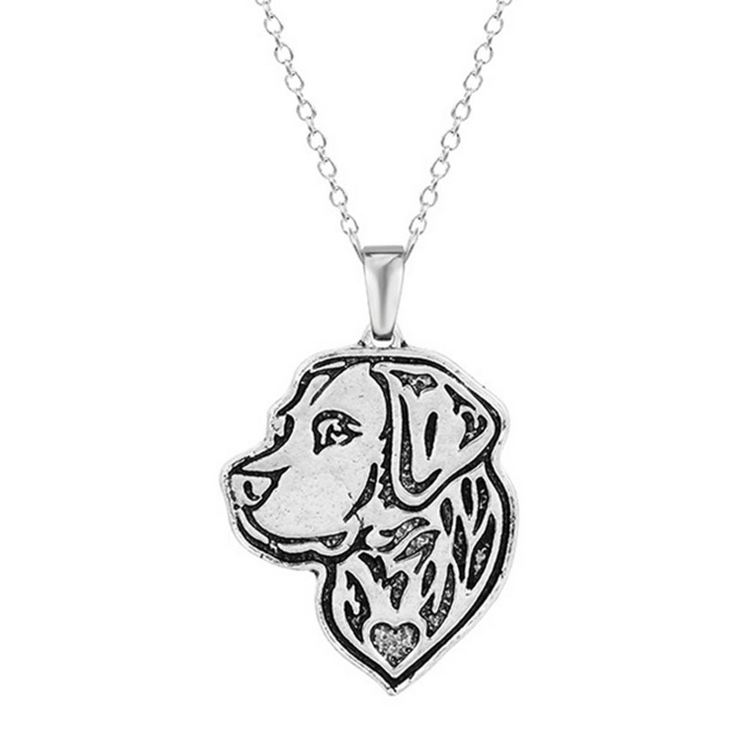 10 stücke Labrador Retriever Halskette Dog Anhänger Halsketten Tier ...