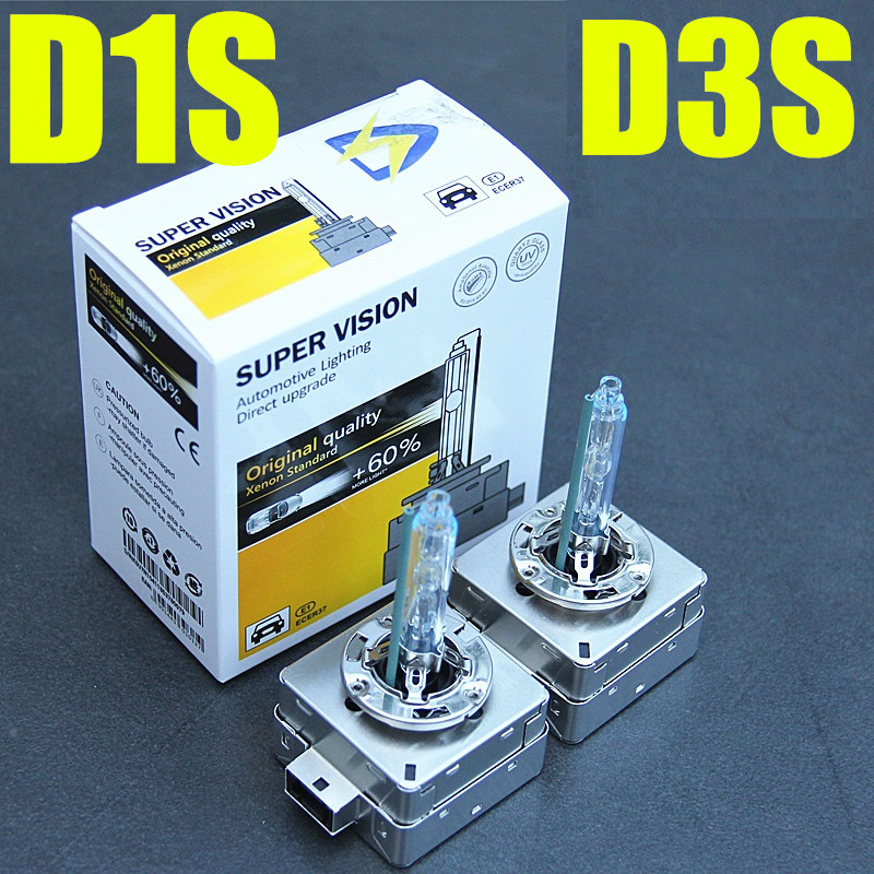 High quality 35W hid xenon D1S D3S Replacement HID XENON D1S Bulbs 4300K 6000K 8000K 2pcs 12v 35w xenon d1s d1c xenon hid bulbs headlights replacement lamp auto car light 4300k 5000k 6000k 8000k