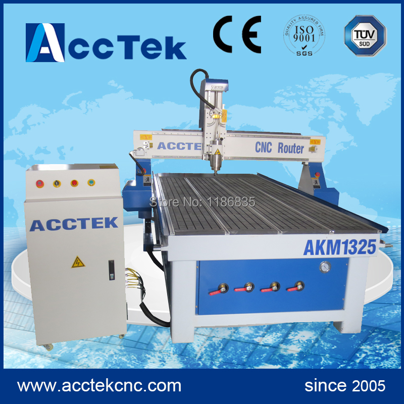 3 Axis Cnc Router Machine,3.0kw  Water Cooling Spindle ,Mach3 Control System ,stepper System