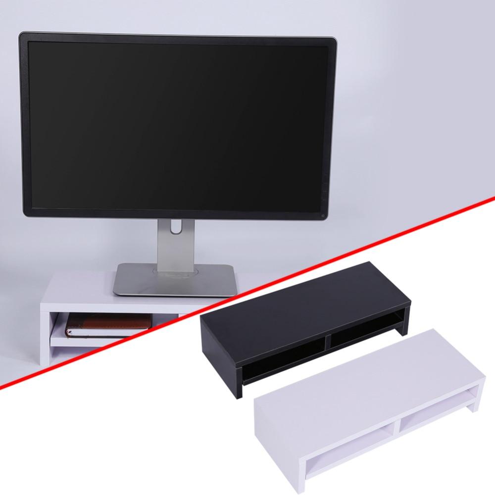 Cheap desktop computer - Wood Computer Monitor Riser Over Keyboard Monitor Riser Stand Desktop Organizer Wood Monitor Stand Storage Box