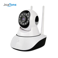 JeaTone Home Security IP Camera Wi Fi Wireless Mini Network Camera Surveillance Wifi 720P Night Vision