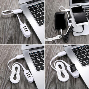 Mini-USB 3usb Multi-function 3A Charger Converter Extension Line Expansion Multi-port HUB Hub mini usb  Mini-USB