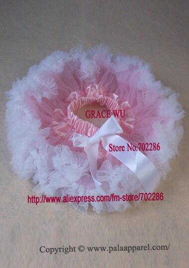 Детская балетная юбка, пачка младенческой юбки-пачки пачка recien nacido детская юбка с рюшами розовый шифон - Цвет: white ruffled