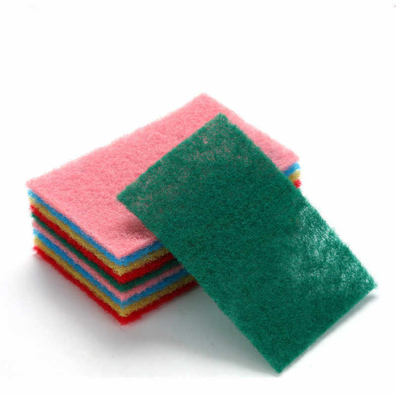 1pcs Efficient Scouring Pad Dish Cloth Cleaning Wipers Kitchen Rags Strong Decontamination Towels Pad Towel Scour Scrub Supplies