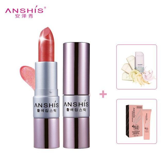 Scurflubricative moisturizing lipstick 3.8g nude color lipstick orange powder lip gloss