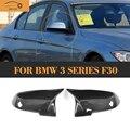 Сменные зеркальные Чехлы для BMW F20 F30 F31 Convertible F34 F36 GT 13-17 LHD  не углеродное волокно  боковые зеркальные крышки