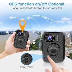 Image 3 - BOBLOV Wifi Polizei Kamera F1 32GB Körper Kamera 1440P Getragen Kameras Für Recht Durchsetzung 10H Aufnahme GPS nachtsicht DVR Recorder