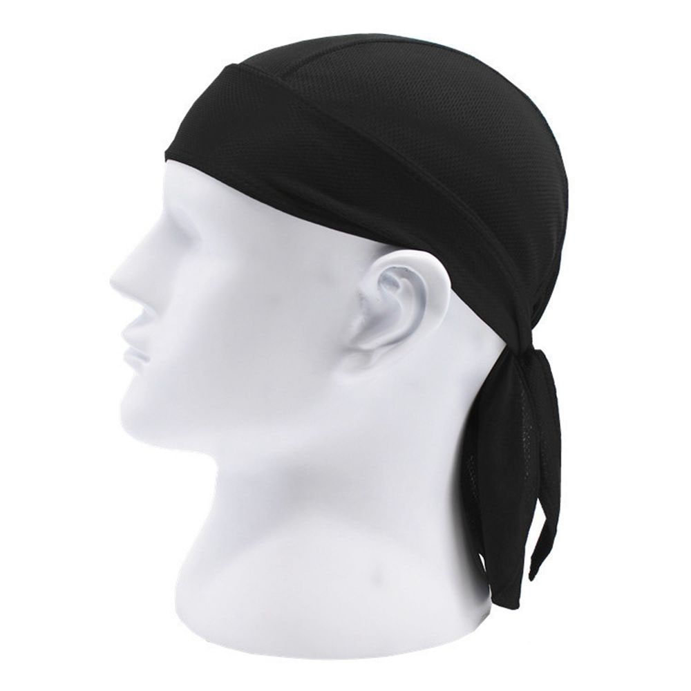 Fashion Unisex Durags Wrap Bandana Long Tail Biker Motorcycle Turban Ride Hat