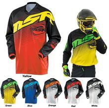 2017 Motocross jersey NEW Wholesale MOTO camisetas motociclista Mayhem Lite Blocker Black / hi-viz Motocross Dirt Bike MX Jersey цена