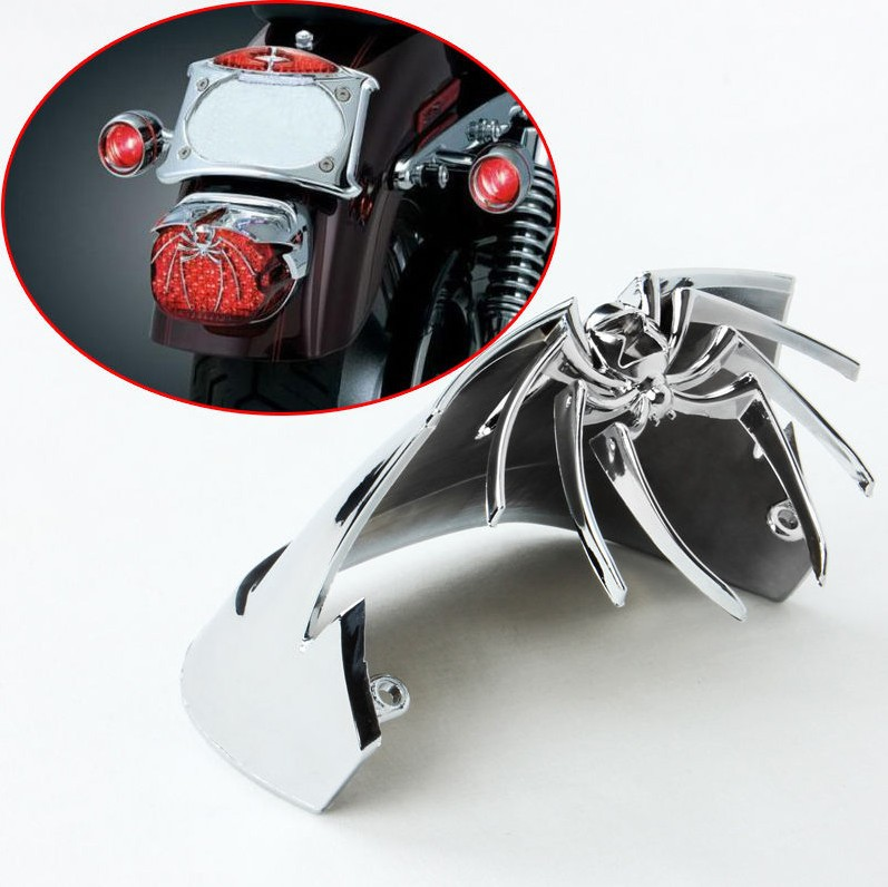 scooter parts/ Spider Rear Tail Light Cover for Harley Davidson Low Rider FXDL Classic FLHTC /free shipping