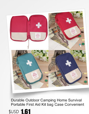 fada98abb8 OUTAD Portable Emergency Rescue Bag Outdoor Camping Survival First Aid Kit  bag Case Striking Cross Symbol for Hiking safety 3 Colors