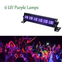 6/9 LED 3W Led Bar Purple light UV Purple LED Landscape Lights Outdoor Indoor Decoration LED Party Wedding Holiday Decoration