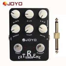 JOYO Guitar Effect Pedal Sound Box Extreme Metal (Amplifier Simulator) -JF-17+ 1 pc pedal connector