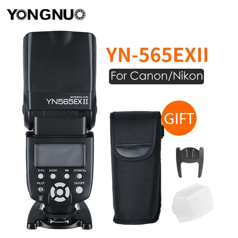 Yongnuo YN-565EX II YN565EX TTL flash pour Canon 6D 60d 650d Pour Nikon D7100 D3300 D7200 D5200 D7000 D750 D90